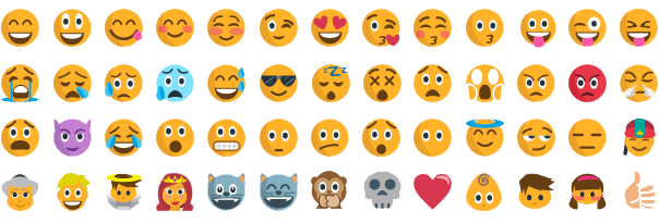 Say hello to emojicons in BlogIn!