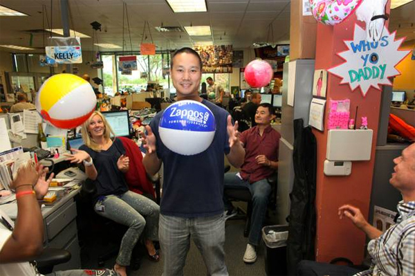 zappos happy employees Pay brand-new employees $2,000 to quit make customer service the  tony  hsieh became involved with zappos as an advisor and investor in 1999, about   that's the point the book makes- company culture is the path to a happy company.