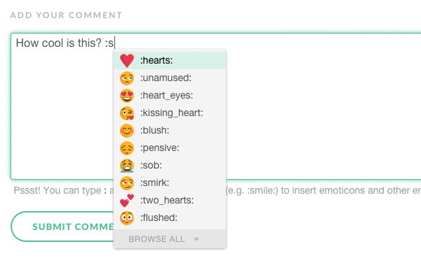 Say hello to emojicons in BlogIn! | BlogIn