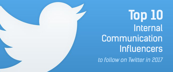 Top 10 Internal Communication Influencers to follow on Twitter